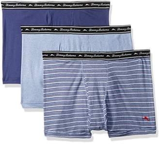 Tommy Bahama Men's Breathe Easy 3 Pack Boxer Brief-Multi Blue Stripe