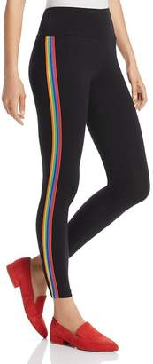 Hue Rainbow Tux Cotton Leggings