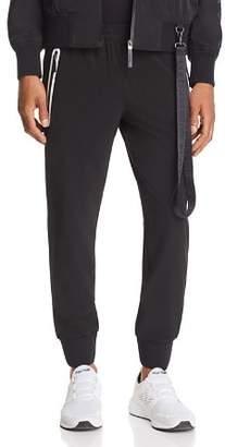 BLACKBARRETT by NEIL BARRETT Contrast Zip Track Pants