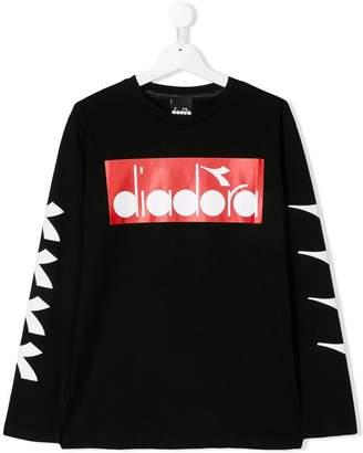 Diadora (ディアドラ) - Diadora Junior ロゴプリント Tシャツ