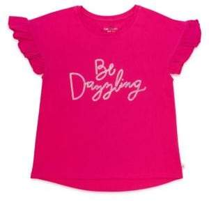 Kate Spade Girl's Be Dazzling Cotton Tee