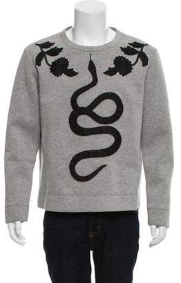 Gucci 2016 Kingsnake Neoprene Sweatshirt