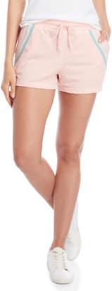 C&C California Stripe Knit Drawstring Shorts