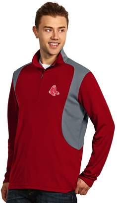 Antigua Men's Boston Red Sox Delta 1/4-Zip Pullover