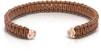 Be Unique Two Knots Leather Bracelet
