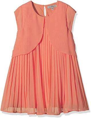 French Connection Girl's Pleated Plain Dress