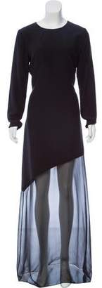 Prabal Gurung Long Sleeve Knit Gown