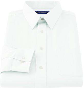 Croft & Barrow Men's Classic-Fit Easy Care Point-Collar Dress Shirt