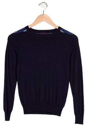 Paul Smith Girls' Knit Long Sleeve Sweater