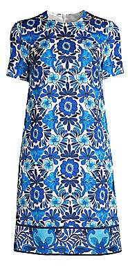 Escada Women's Divinu Floral Printed Shift Dress