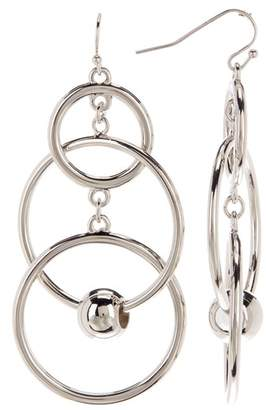 Vince Camuto Multi Ring & Ball Drop Earrings