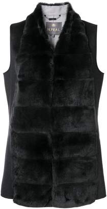 N.Peal double sided fur gilet