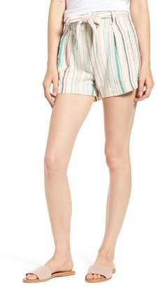 Splendid La Paz Stripe Twill Shorts