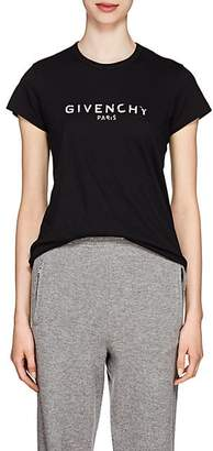 Givenchy Women's 4G-Logo Cotton T-Shirt - Black