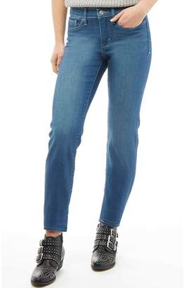 Levi's Womens 314 Shaping Straight Jeans Empty Sky