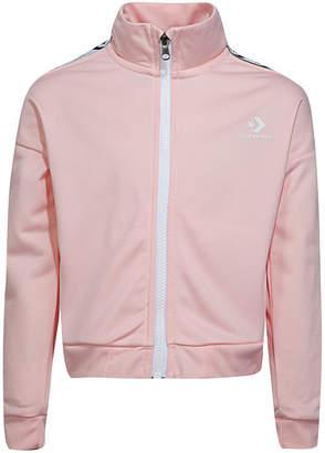 Converse Full-Zip Lightweight Jacket - Preschool Girls