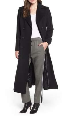 Kristen Blake Double Breasted Long Wool Coat