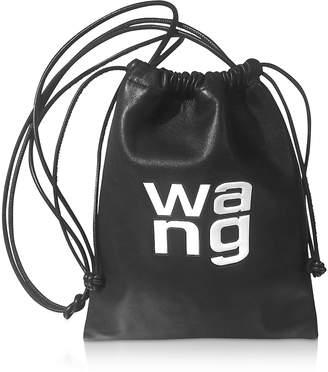 Alexander Wang Black Smooth Leather Ryan Mini Dustbag