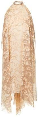 DAY Birger et Mikkelsen Kitx Ikat printed backless halter dress