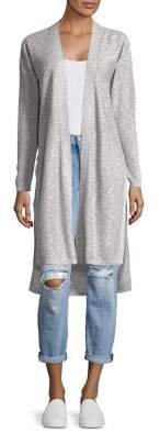 Jones New York Vented Mixed-Stitch Cardigan