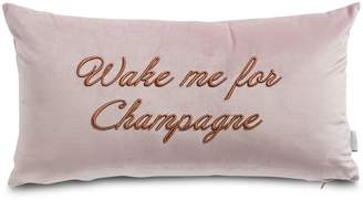 Ted Baker Wake Me Up Embroidered Pillow