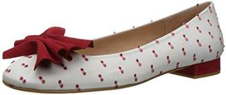 French Sole Women's Wiggle Ballet Flat