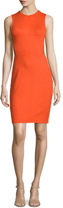 French Connection Beau Sleeveless Sheath Dress, Masai Red $158 thestylecure.com