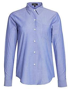 Theory Women's The Perfect Cotton Shirt
