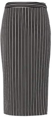 Banana Republic Stripe Bi-Stretch Pencil Skirt