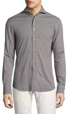 Vilebrequin Striped Button-Down Shirt