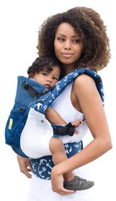 Lillebaby LALLAbaby COMPLETE Airflow Baby Carrier in Anchors Away
