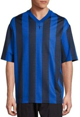 Alexander Wang Striped Soccer Jersey