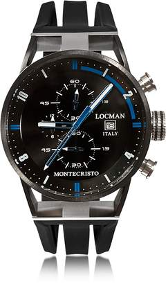 Locman Montecristo Stainless Steel & Titanium Men's Chronograph Watch