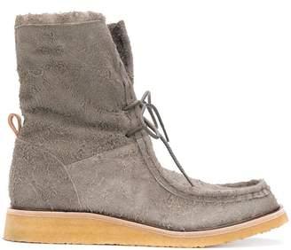 Hender Scheme Wallabee ankle boots