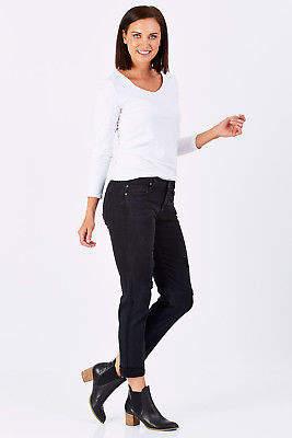Liverpool NEW Womens Skinny Jeans Peyton Slim Boyfriend CarbonDes