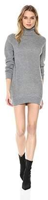 Michael Stars Women's Mixed Stitch Long Sleeve Cowl Neck Tunic Dress