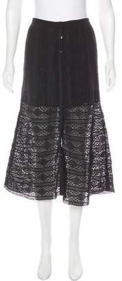 LoveShackFancy Crochet Midi Skirt