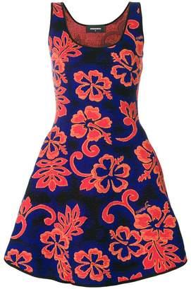 DSQUARED2 floral patterned dress