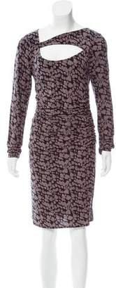 Tracy Reese Printed Mini Dress