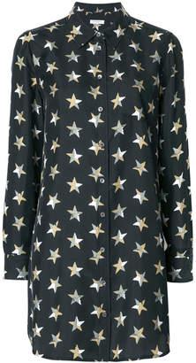 Equipment star print shirt dress