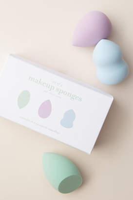 Anthropologie Makeup Sponge Set