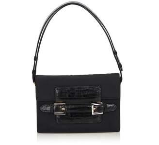 Fendi Vintage Chemical Fiber Shoulder Bag