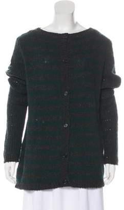 Marni Wool Patchwork Cardigan wool Wool Patchwork Cardigan