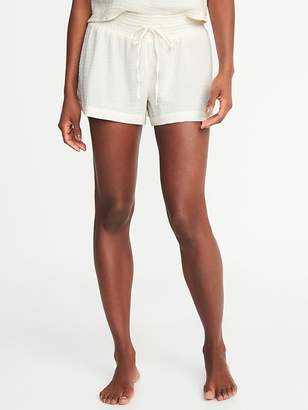 Old Navy Smocked-Waist Swim Cover-Up Shorts for Women