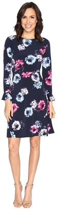 Ellen Tracy - Flutter Sleeve Dress Women's Dress $119.50 thestylecure.com