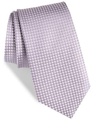 The Tie Bar Be Married Check Silk Tie