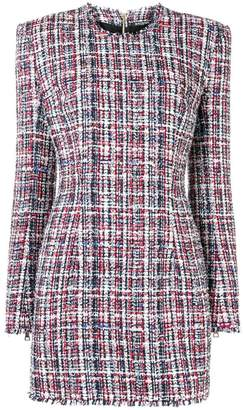 Balmain tweed mini dress