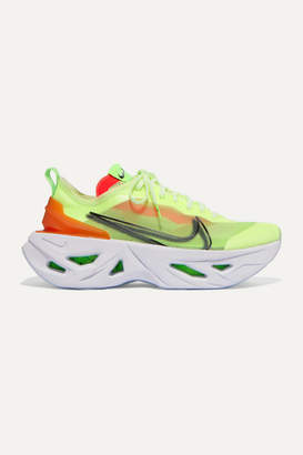 Nike Zoomx Vista Grind Neon Mesh Sneakers - Green