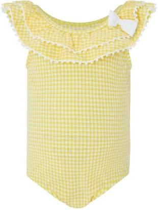 Monsoon Baby Sunflower Bow Swimsuit
