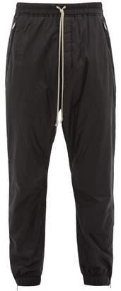 Padded Technical Shell Track Pants - Mens - Black